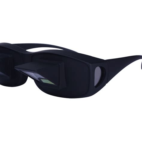 new prism bed specs laying in tv book reading glasses