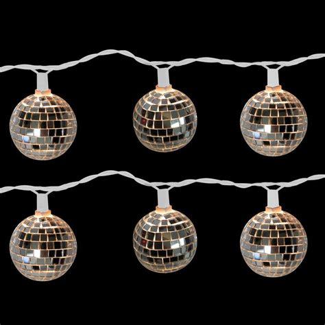 Brite Star 10 Light Disco Ball Clear Light Set Set Of 2 Light Set