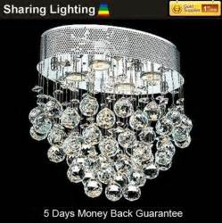 Hanging Ball Chandelier Huizhuo Lighting Free Shipping Modern Crystal Ball