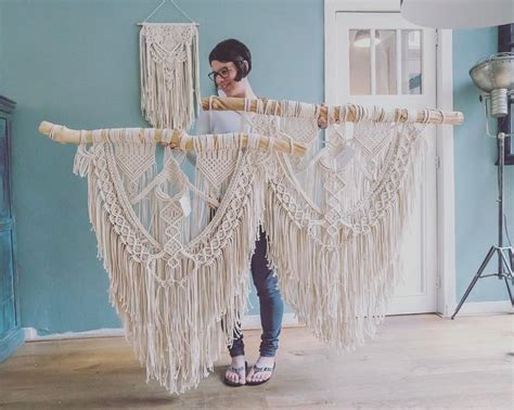 Learn To Macrame - 25 best ideas about macrame wall hangings on