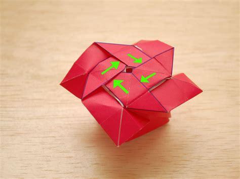 Origami Mawar - origami mawar comot