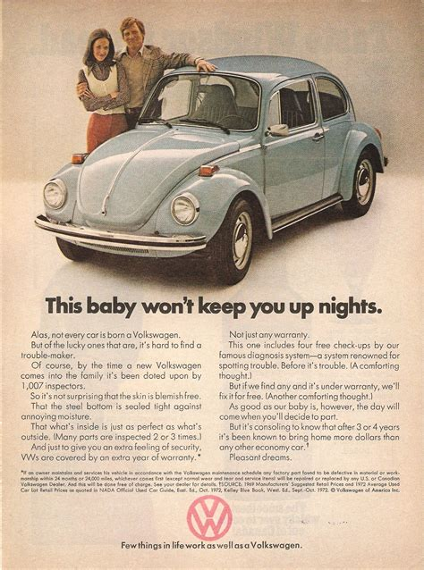 volkswagen ads vw advertising in the seventies from classic ddb to a new