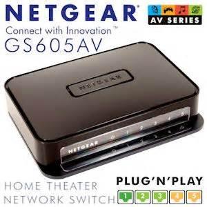 netgear home theater network  poorts gigabit ethernet