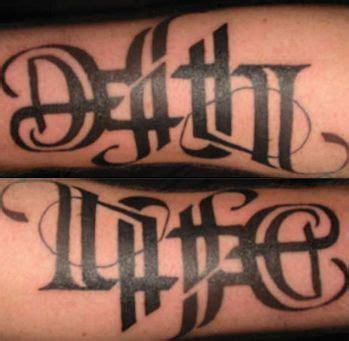 tattoo fonts reversible 17 best ideas about ambigram tattoo generator on pinterest