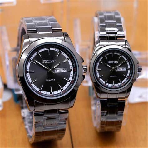 jual jam tangan couple pasangan pria wanita seiko grade