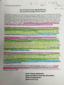 Dbq Exle Essay by Watts Becky Dbq S