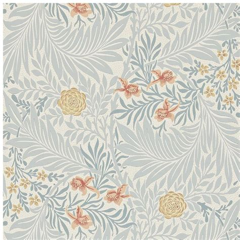 design wallpaper online uk morris and co archive ii wallpapers larkspur collection