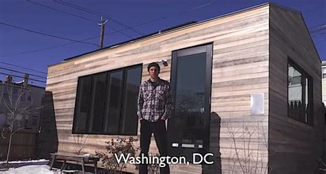 tiny house one level 210 sq ft one level modern tiny house