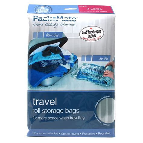 Vacuum Bag Size 50 X 70cm Wenbo Ready Stok packmate clothes compression bags large travel vacuum