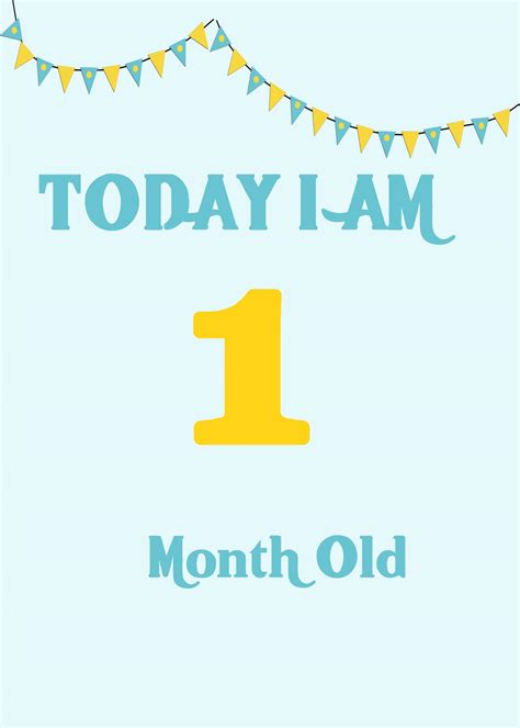 baby month card template baby milestone cards celebrating special moments