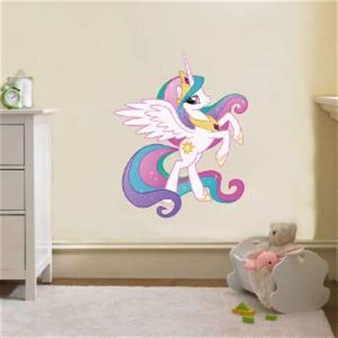 my little pony home decor princess celestia my little pony decal removable wall