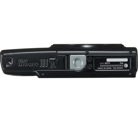 Canon Ixus 190 Black buy canon ixus 190 compact black free delivery