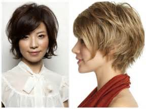hair style that covers ears short haircut with longer bangs at ears black hairstyle