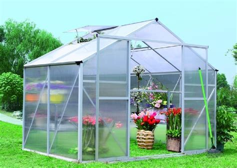 Small Home Greenhouse Kits 6x4 Mini Garden Greenhouse Kits Sunor Polycarbonate Uv