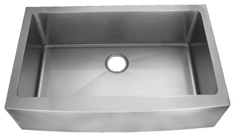 curved stainless steel sink faucets kitchens island sinks white homeplace marshall 15 gauge single bowl curved apron front