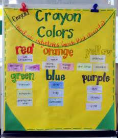 color word adjective activity second third grade