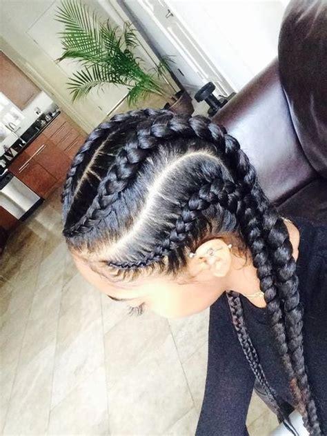 super cute  creative cornrow hairstyles