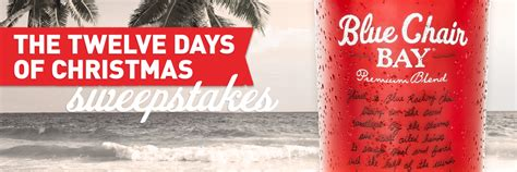 Blue Chair Bay Rum Sweepstakes - blue chair bay rum 12 days of christmas giveaway quot deal quot icious mom