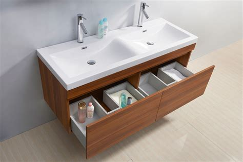 zuri 55 inch sink plum bathroom vanity