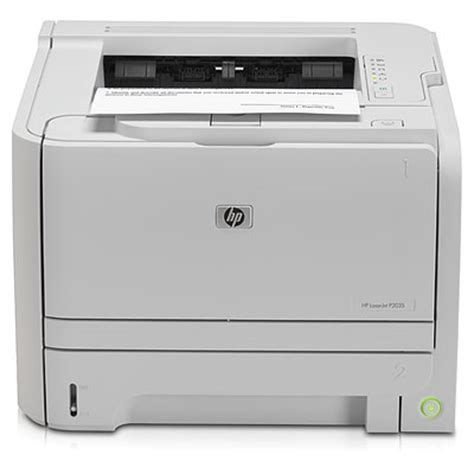 hp p2035 laser printer driver free download and software