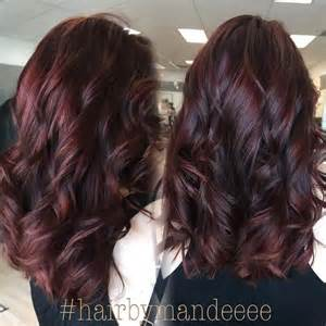 burgundy brown hair color 25 best ideas about burgundy brown hair color on