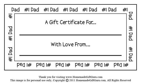 printable gift certificates for father s day gift cards certificates template new calendar template site