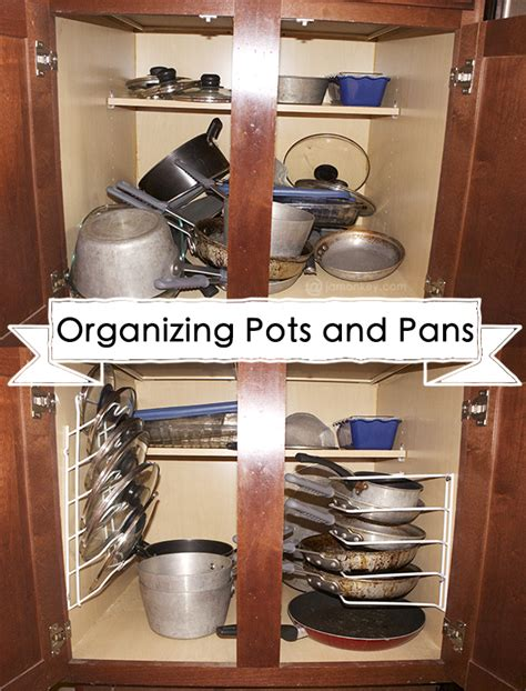 kitchen storage ideas for pots and pans laudablebits com