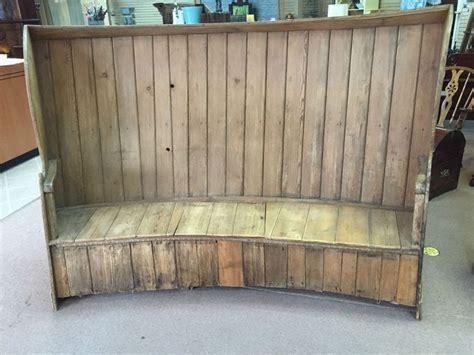 pine settle bench for sale details about gorgeous large antique primitive pine settle
