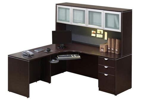 Office Desks Corner Corner Office Desk With Hutch Small Corner Home Office Desk