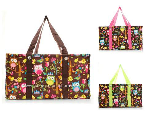 Tote Bag Cutemew Motif Big Owl 1 big owl 21 quot one large utility tote bag market picnic basket choose thirty styles ebay