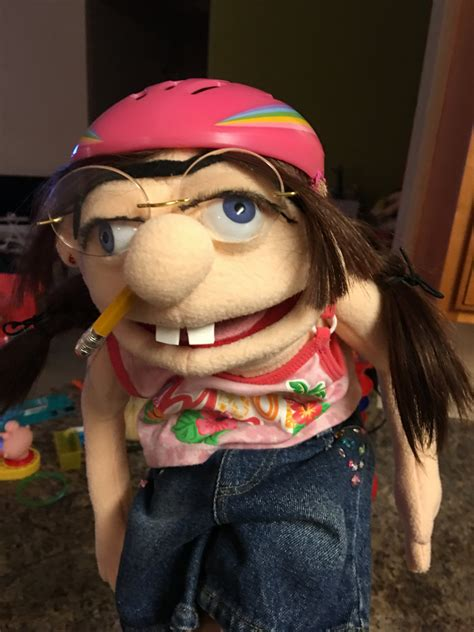 jeffy puppet look alike jeffy s sister puppet from sml youtube by evelinka