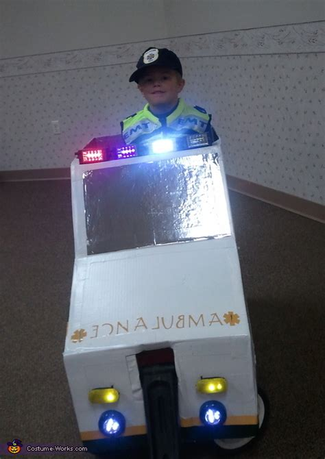 emt  ambulance homemade halloween costume