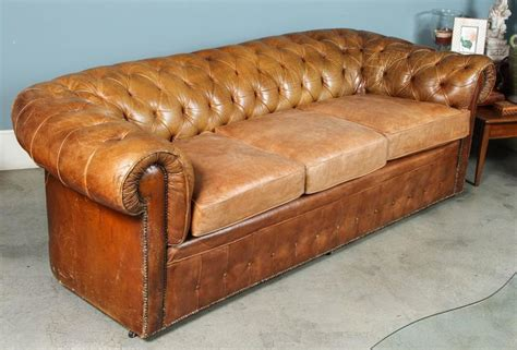 Chesterfield Leather Sofa For Sale 1960s Leather Chesterfield Sofa For Sale At 1stdibs