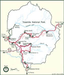auto touring yosemite national park u s national park