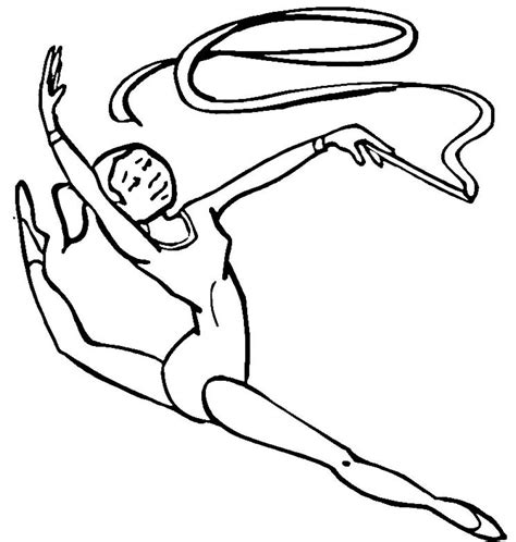 educational coloring pages coloringsuite gymnastics coloring pages coloringsuite