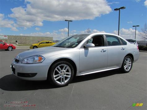 2010 chevrolet impala ltz 2010 chevrolet impala ltz in silver metallic photo 2