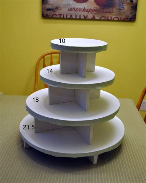 Diy Cupcake Stand Ideas 25 Best Ideas About Diy Cupcake Stand On Pinterest Cupcake Display Diy Baby Shower And Food