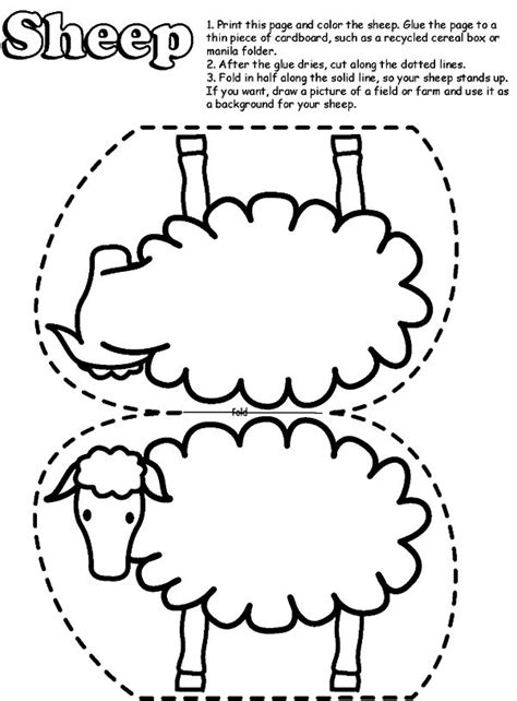 preschool coloring pages for march sheep for coloring 6 free coloring page site lost sheep