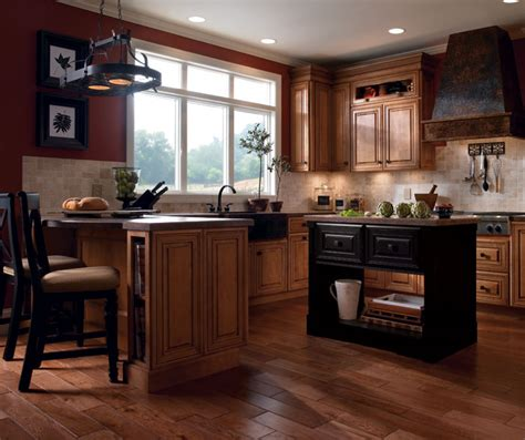 Coffee Colored Kitchen Cabinets   Kemper Cabinetry