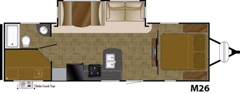 mallard travel trailer floor plans 2000 mallard travel trailer floor plans thefloors co