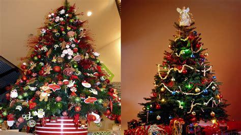 imagenes de adornos de arbol decoraci 243 n 225 rbol de navidad rojo decorar 225 rbol navide 241 o