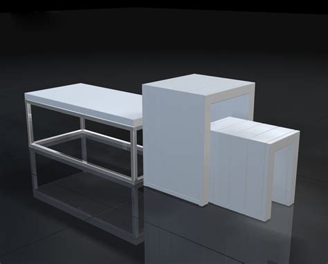retail display table retail store display table with modern design and durable