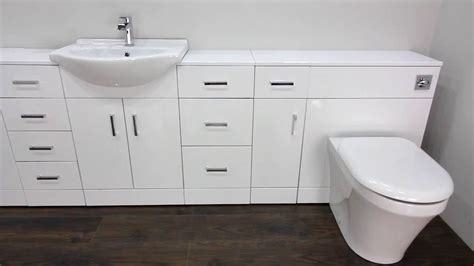 Fitted Bathroom Furniture White Gloss by Fitted Bathroom Furniture