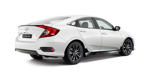 honda civic 2016 black 2016 honda civic black pack option unveiled photos 1 of 2