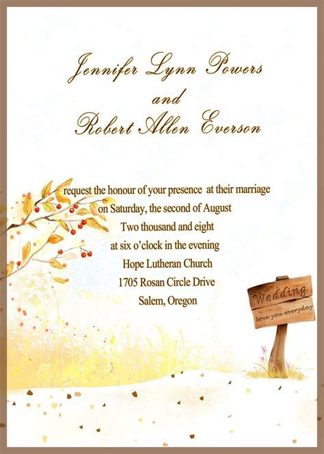 marriage invitation cards for friends   wedding
