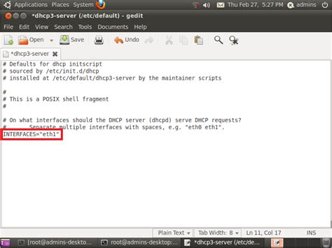 cara konfigurasi dns server pada ubuntu konfigurasi dhcp server pada ubuntu siteblogforu