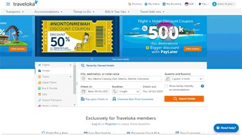 traveloka web