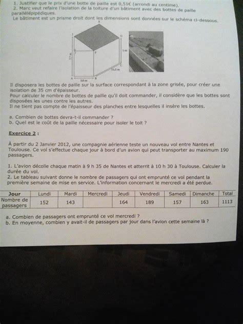 devoir mathematiques 3eme bonjour j ai vraiment