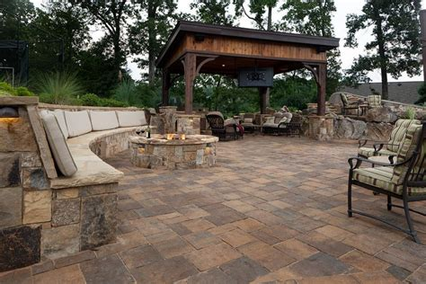 13 pits and fireplaces in outdoor kitchens hgtv