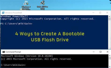 create bootable usb kali linux on windows ethical create bootable usb flash drive for windows wikigain
